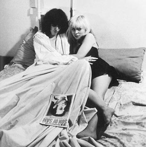 Joey Ramone and Debbie Harry. Photo taken in New York by Chris Stein Punk magazine