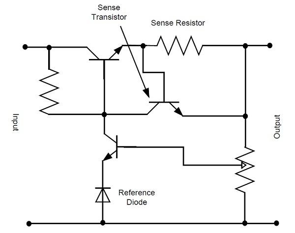 App note: External current limiting circuit