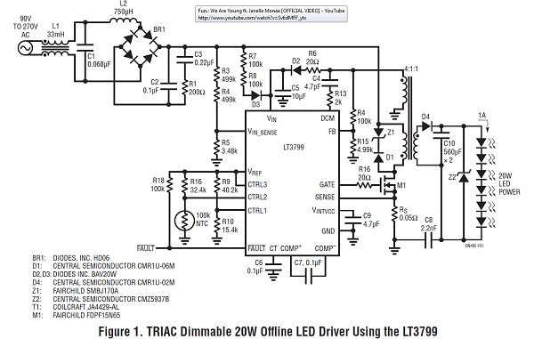 App note: High power triac dimmable LED driver « Dangerous