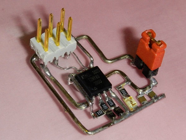 Photos Show The Construction And Layout Of The Propekg Circuit Board
