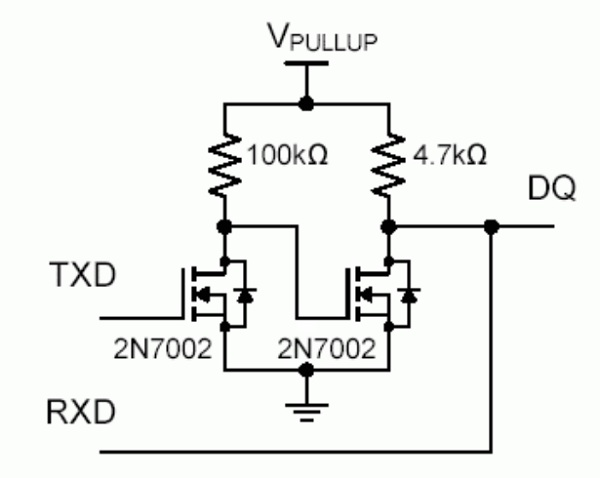 App note: Using UART to implement a 1-Wire bus master