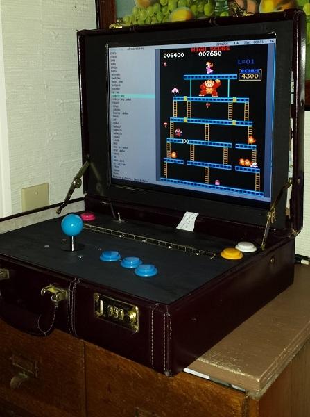 DIY briefcase Arcade  Dangerous Prototypes