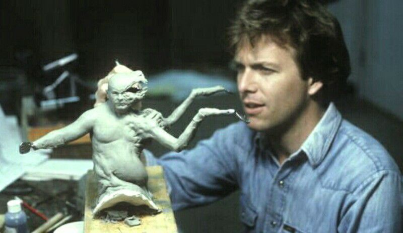 Image result for the thing behind the scenes 1982