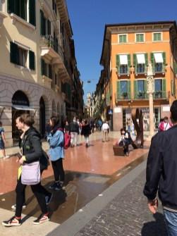 Straßen in Verona