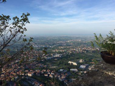 Aussicht vom Monte Titano