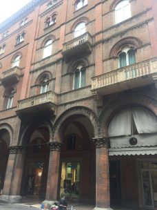 Arkade in Bologna