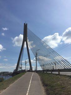 Brücke unser Ausgangspunkt
