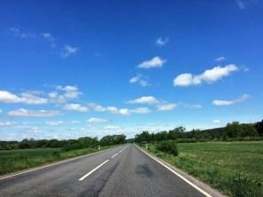 Auf dem Weg in Litauen