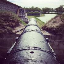 Kanone in Kuressaare