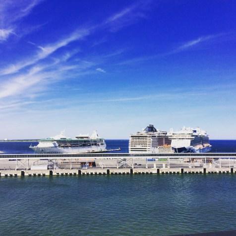 Fähren in Tallinn