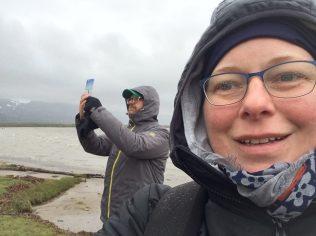 Beim Fjord fotografieren
