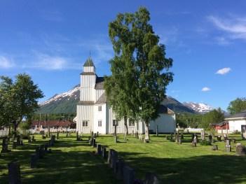 Dorfkirche in Setermoen (Norwegen)