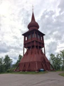 Glockenturm Kiruna (Schweden)