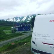 in der Bergwelt der Lofoten