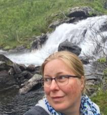 Wasserfalllauschen