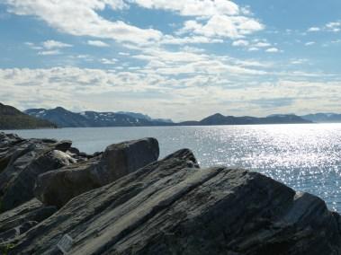 Fjord in Hammerfest
