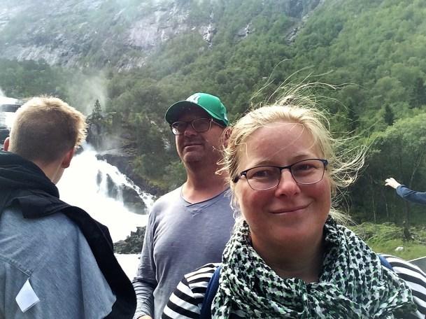 Gischt am Wasserfall Nummer 1