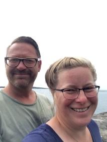 Brillenreklame in Schweden