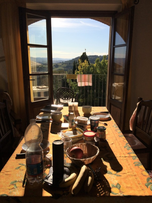Frühstück mit Ausblick