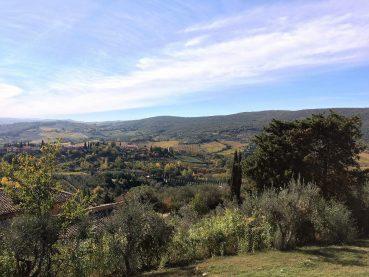 Ausblick - San Gimignano