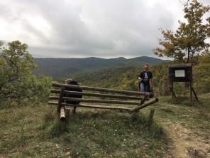 Wanderung zum Rocca Di Pietracassia bei Lajatico