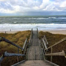 Treppe ins Meer