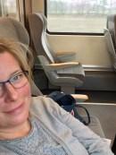 Im Zug - auf der Rückreise