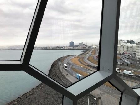 Reykjavik - Blick aus der Harpa