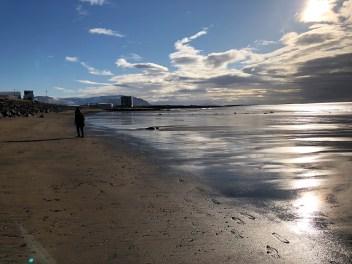 am goldenen Strand
