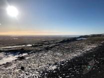 Knalle Sonne über Island