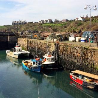 Hafen von Crail
