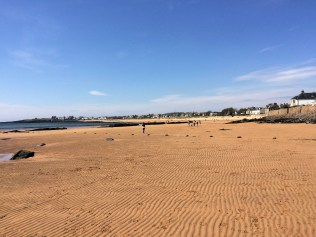 Strand bei Ebbe in Elie