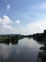 Die Weser bei Minden