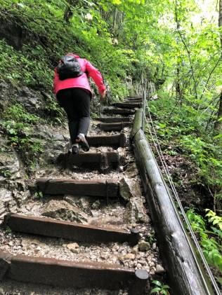 Obersee - Wandern im Regen