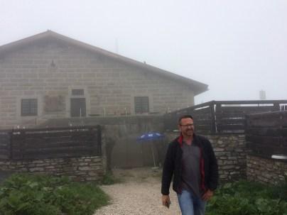 Nebel am Kehlsteinhaus