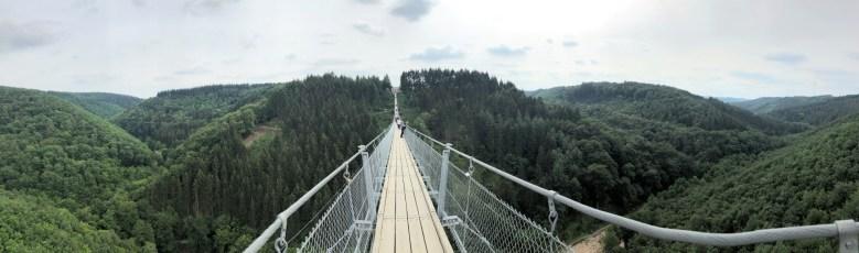 Geierlay- Hängebrücke - nichts für Menschen mit Höhenangst