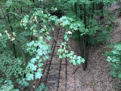 verlassene Schienen