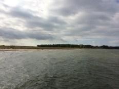 Blick auf die Insel Wustrow