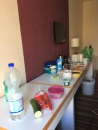 Hotelzimmer - Picknick