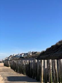 Am Strand bei Sangatte