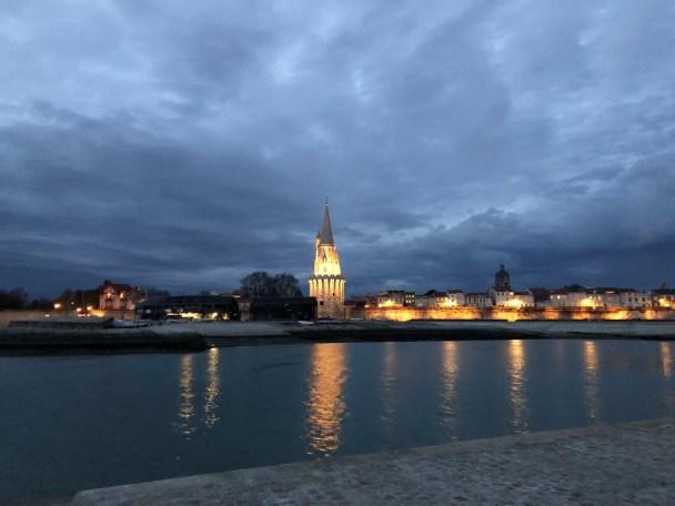 La Rochelle bei Nacht