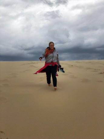 Dune de Pilat - und abwärts