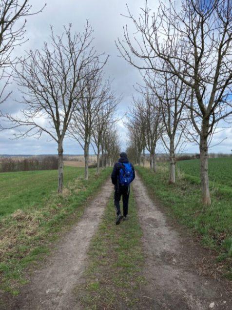 Wandern durch die Uckermark April 2021