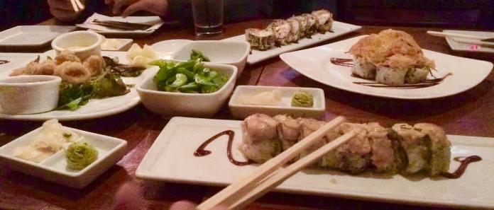 Sushi at Kabuki located in Bella Terra.