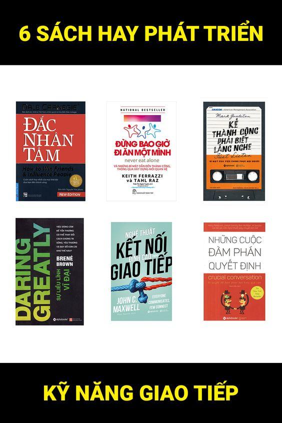 Nếu bạn đang tìm kiếm những quyển sách giúp phát triển giao tiếp cũng như kỹ năng đàm phán trong những cuộc gặp quan trọng thì hãy save pin này lại ngay. Bởi đây chính là top 6 sách hay và hữu ích giúp bạn phát triển kỹ năng và nghệ thuật giao tiếp. | #sachgiaotiep #sachhaynendoc #sachkynang #kynanggiaotiep #nghethuatgiaotiep #listsach #topsachhay