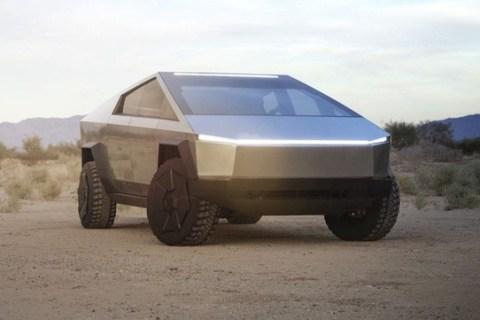 Không có cần gạt nước, Cybertruck của Tesla sẽ làm sạch bụi trên kính xe như thế nào? - Ảnh 1.