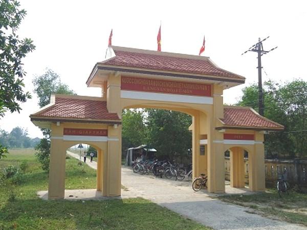 Cổng làng Kế Môn