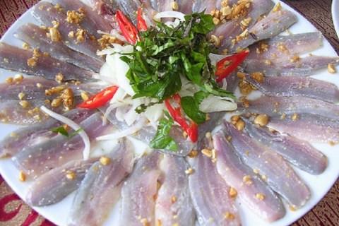 Gỏi cá Chình Bình Định - đặc sản quy nhơn