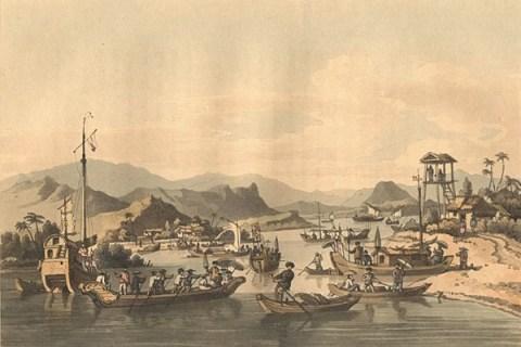 Phố cổ Hội An xưa (Ảnh qua vi.wikipedia.org)
