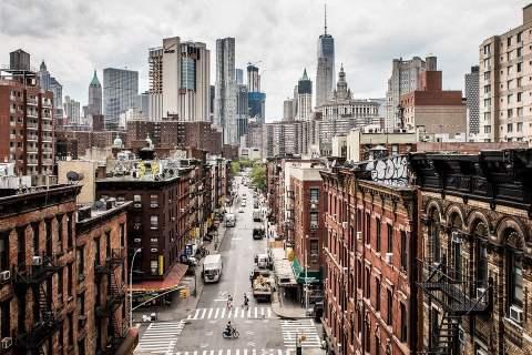 Hoa Kỳ, Manhattan, Tương Phản, New York